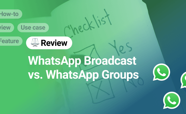 Whatsapp Broadcast Vs Group What S The Difference Amocrm