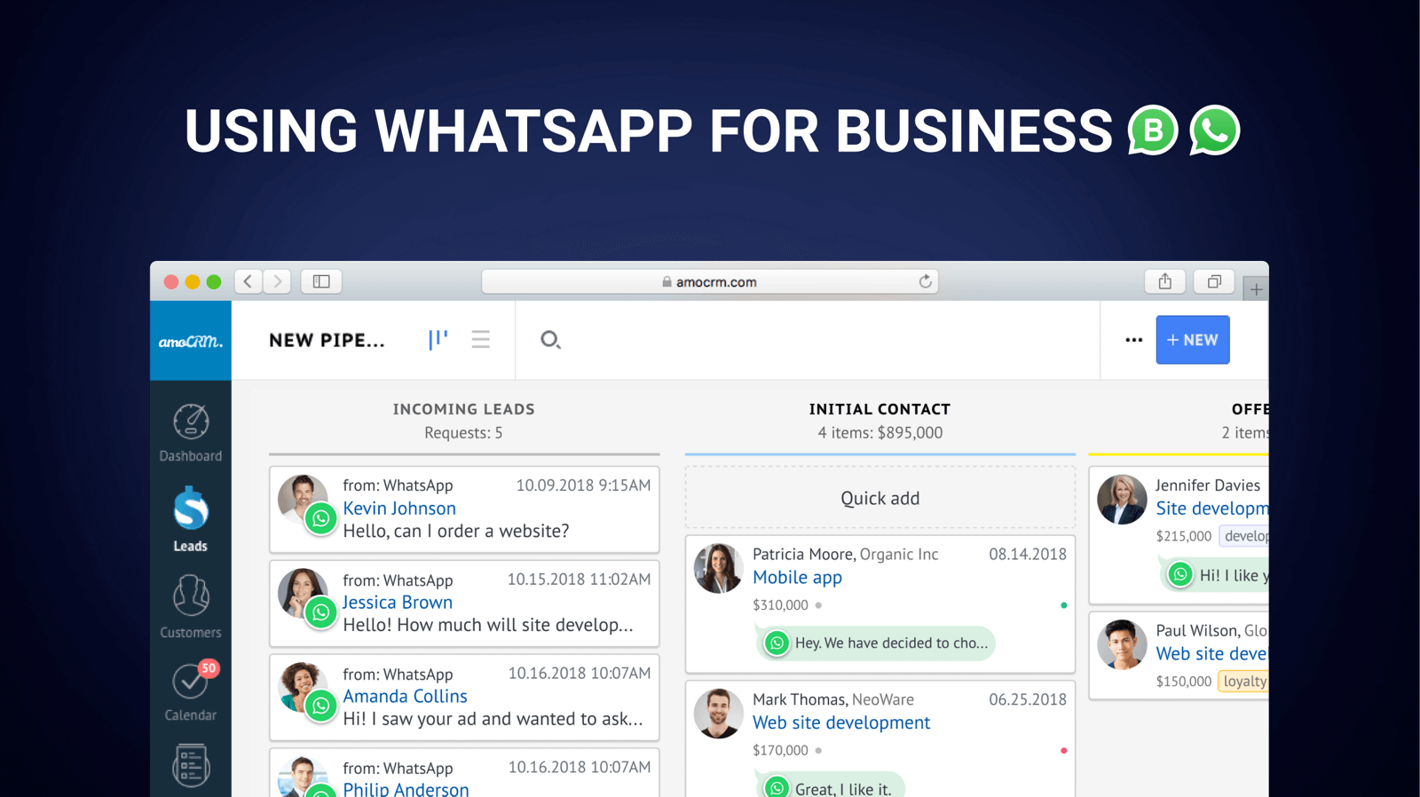 Using Whatsapp For Business Amocrm