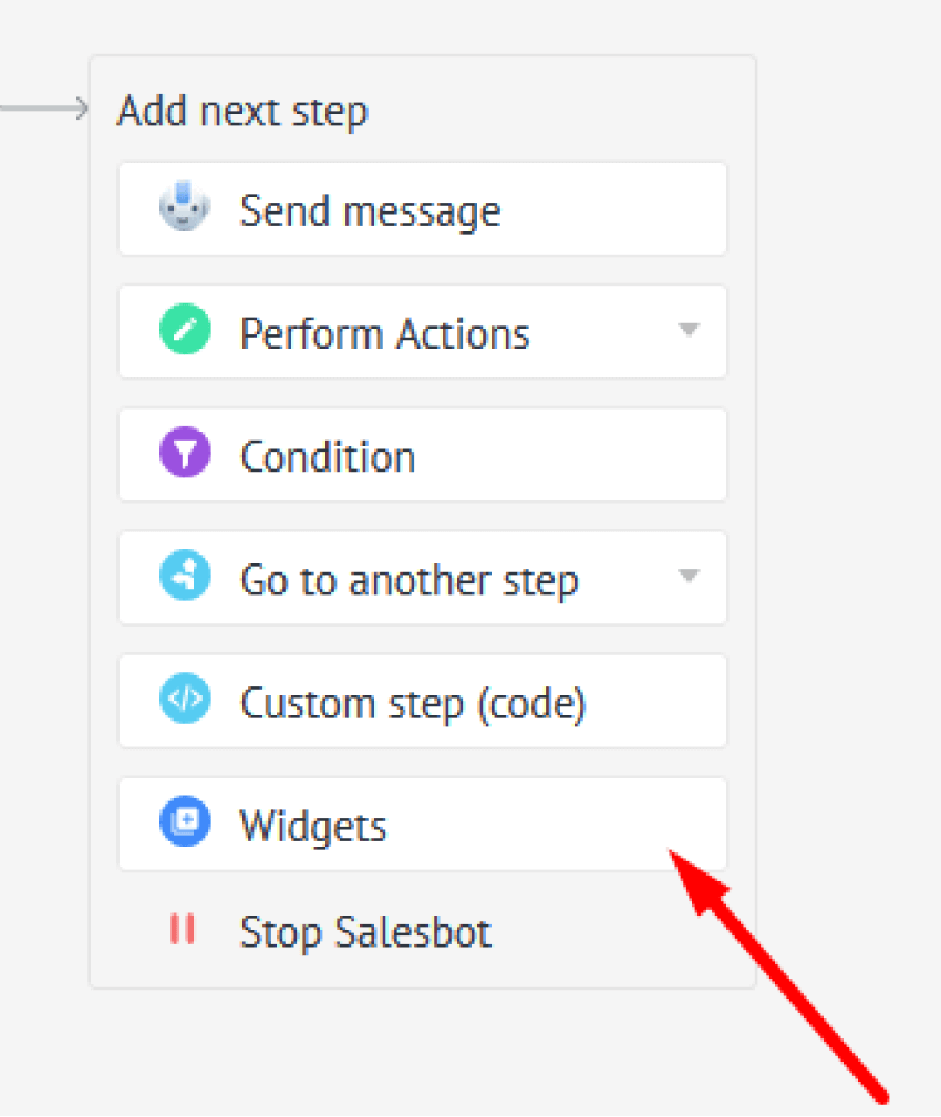 Chat step 14 Steps
